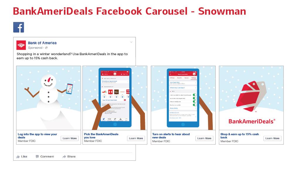 Facebook Carousel – Snowman