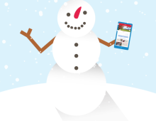 FB Carousel Video - Snowman